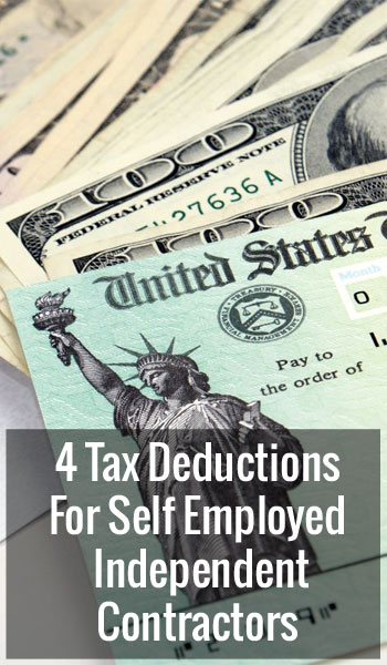 4 Tax Deductions Independent Contractors Can Take