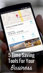 5 Time Saving Tools For Your Business